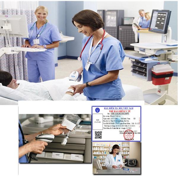 Ứng dụng của mã vạch vào ngành y tế như thế nào?